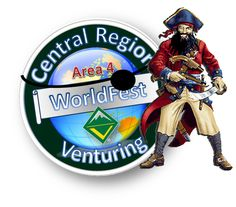 The largest Venturing only event in Central Region Venturing WorldFest 2016: Pirates of the Seven Ranges April 22-24, 2016 Seven Ranges Scout Reservation, Kensington, OH