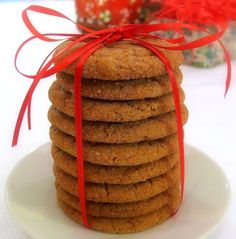 Double Ginger Crackles   Noble Pig