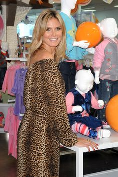 Heidi Klum unveils her Truly Scrumptious line for kids at Babies R Us