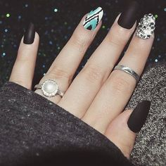 Cool Nail Art! - Head over to Pampadour.com for product suggestions! #pampadour