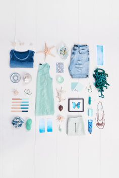 Costes, summer blues, aqua, beach