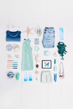 Costes, summer blues, aqua, beach