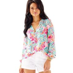 NWT Lilly Pulitzer Peel and Eat Elsa Hard to find. New With tags. Lilly Pulitzer Tops