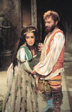 Elizabeth Taylor & Richard Burton - the taming of the shrew