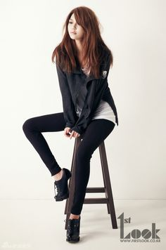 SNSD Soo Young - 1st Look Magazine