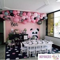 Mickey e Minnie Safari - Kit digital gratuito - Inspire sua Festa ® Panda Themed Party, Panda Birthday Party, Monster Inc Birthday, Panda Party, Bear Party, Bear Birthday, 11th Birthday, 3rd Birthday Parties, Birthday Ideas