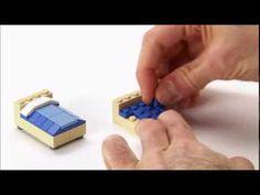 LEGO® Creator Designer Tips - Bedroom furniture