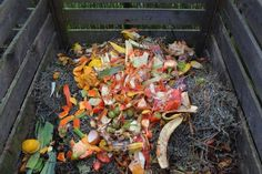 Urban Composting, Composting At Home, Making A Compost Bin, How To Make Compost, Compost Soil, Organic Compost, Garden Compost, Vegetable Garden, Growing Vegetables