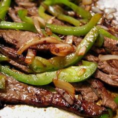 Good Eats Skirt Steak (Marinade) - Great for Fajitas! Recipe