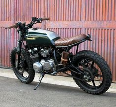 "rankxerox: ""motorcycledreams""Climber"" Kawasaki Z550 F Built By: @bullittgarage """