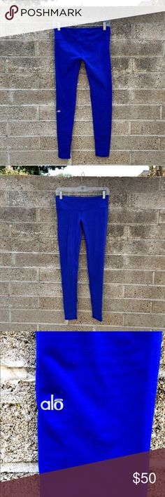 ALO Leggings Beautiful, Sea Blue, ALO leggings!! size xs ALO Yoga Pants Leggings