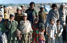a handful of the 1.4 million AFGHANS taking refuge in Pakistan.