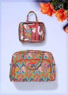 68295eba32de Paisley in Paradise Vera Bradley. Available now for Summer 2016 at Rogers  Jewelers