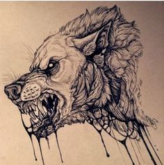 Tattoo wolf drawing werewolves 48 Ideas The most beautiful picture for . - Tattoo wolf drawing werewolves 48 ideas The most beautiful picture for couple tat - Fenrir Tattoo, Werewolf Tattoo, Werewolf Art, Tattoo Sketches, Tattoo Drawings, Body Art Tattoos, Sleeve Tattoos, How To Draw Tattoos, Wolf Tattoos