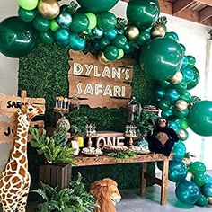 Trendy Baby Shower Ideas For Boys Themed Jungle First Birthday Parties- . - trendy baby shower ideas for boys-themed Jungle First Birthday Parties- trendy baby shower - Safari Theme Birthday, Boys First Birthday Party Ideas, Jungle Theme Parties, Wild One Birthday Party, Birthday Themes For Boys, Baby Boy First Birthday, Boy Birthday Parties, Birthday Party Decorations, Birthday Candy