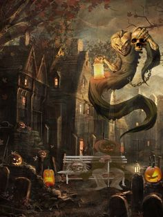 Halloween night by mohibrameen
