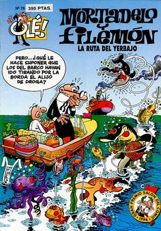 Do you love comics and want to boost your Spanish? Learn Spanish through this list of 11 awesome comics you'd surely enjoy. Jean Van Hamme, Comics Mexico, Retro Images, Magazines For Kids, Marvel, Pulp Art, Dark Horse, Humor, Conte