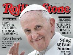 El papa Francisco, el primer pontífice en la portada de la Rolling Stone