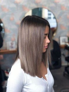 ideas for brunette hair colors in 2019 Ecemella - hairstyle ideas woman . ideas for brunette hair colors in 2019 Ecemella - hairstyle ideas woman . Ashy Brown Hair, Brown Hair Balayage, Brown Ombre Hair, Brown Hair With Highlights, Hair Color Balayage, Blonde Highlights, Ashy Hair, Light Ash Brown Hair, Ashy Balayage