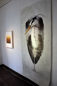 Karl Martens Watercolor Birds. Didn't realize his paintings were THAT big!!