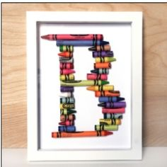 I will be making these this week for the boys room. Will go great with their Elmo things because Elmo LOVES his crayon!