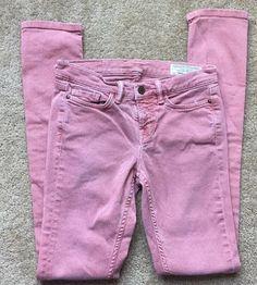 All Saints Spitalfields Women's Vintage Pink Slim/Skinny Leg Denim Jeans Size 24    eBay