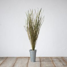 Preserved Wild Grass Bunch in House + Home Branches + Flowers at Terrain