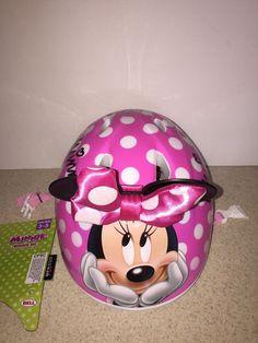 Bell Toddler 3D Minnie Mouse Disney Bike Helmet Age 3-5  | eBay