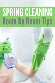 Spring Cleaning Tips: Room by Room