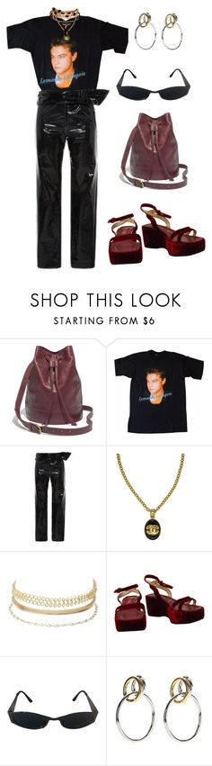 """""""Untitled #999"""" by lucyshenton ❤ liked on Polyvore featuring Madewell, Isabel Marant, Chanel, Charlotte Russe and Versace"""