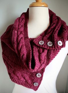 Jindabyne Cowl - PDF Knitting Pattern