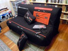 Sega Master System Sofa and Pillows