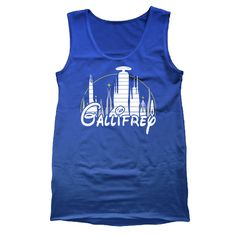 GALLIFREY - funny cool hip party tv show dr doctor who swag humor new tee shirt - Mens Tank Top e2609