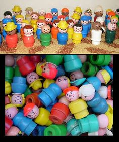 This is what the Little People use to look like back in my day. I loved them so and still do!!