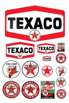 1:25 G scale model Texaco gasoline station gas signs http://www.healthydinneroptions.com/