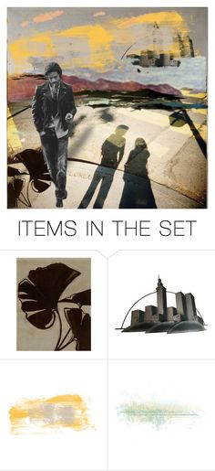 """""""A scene of any place"""" by elyeyer ❤ liked on Polyvore featuring art"""
