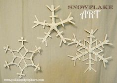 Easy Snowflake Ideas