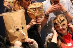 #theatredesign 2013 - mask making