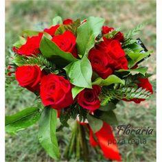 Buchet 15 Trandafiri Rose, Plants, Horsehair, Pink, Plant, Roses, Planets