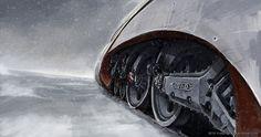 Snowpiercer concept artwork by RB Man