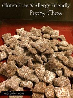 Gluten Free & Allergy Friendly Puppy Chow