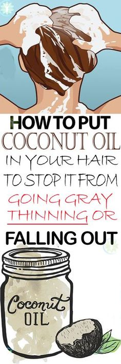 Coconut oil has been used in many tests and proven to have anti-stress and antioxidant effects as well as containing certain components that keep hair strong, nourished and protected from the effects of premature aging, like baldness and excessive hair loss.