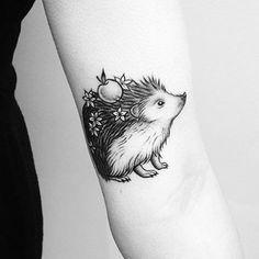 ba17bc525 Small Hedgehog Tattoo | Venice Tattoo Art Designs Tattoo You, Tattoo  Quotes, Coral Tattoo