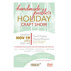 Create a graphic eye catching Holiday Craft Show Poster that makes customers want to attend by goodgoose