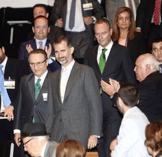 Junto a S.A.R el Rey Felipe VI en el XVII Congreso Empresa Familia