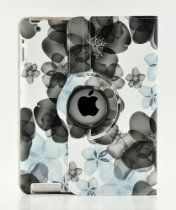 LiViTech offer LiViTech(TM) Fresh Flower Design Series 360 Rotating Smart Cover PU Leather Case Cover for Apple iPad Air, iPad Mini Retina, iPad 2 3 4 (iPad 2 3 4, Black Blue). This awesome product currently limited units, you can buy it now for  $8.99, You save - New