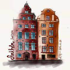 Stortorget, Stockholm by the amazing Katie Hicks