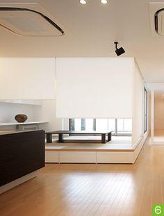 写真:ロールスクリーン Japanese Interior Design, Furniture Design, Loft, Houses, Interiors, Bedroom, Home Decor, Japanese Language, Homes
