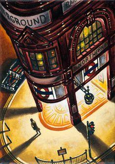 Catto Gallery | John Duffin Solo exhibition 2016 | Tube Light III