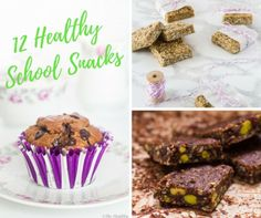 12 Healthy School Snacks – 12 Υγιεινά Σνακ για το Σχολείο